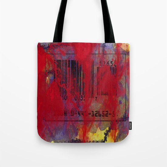 Scanned in Blood Tote Bag