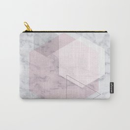 Blush Hex Carry-All Pouch