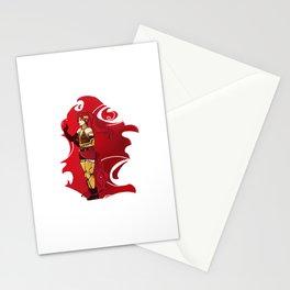 RWBY Pyrrha Stationery Cards