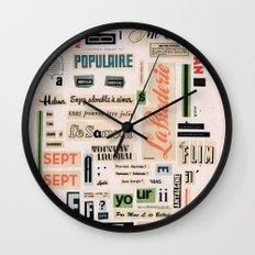 Soyez adorable à aimer  Wall Clock