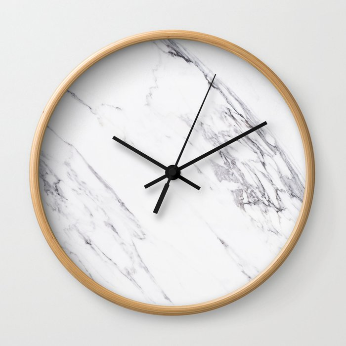 Marble - Classic Real Marble Wall Clock