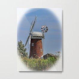 Horsey windpump Metal Print