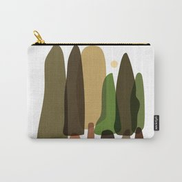 Abstract Into The Forest Landscape Carry-All Pouch
