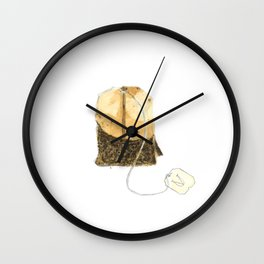 T is for Tea. Wall Clock