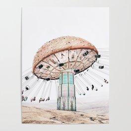 Mushroom Carousel Poster