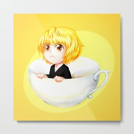 Little teacup Hunter Metal Print