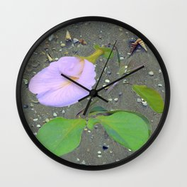 Shanku Pushpam Wall Clock