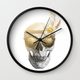 "Mortem in Gloria ""Ati"" Wall Clock"