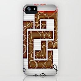 Arithmetic Squares iPhone Case