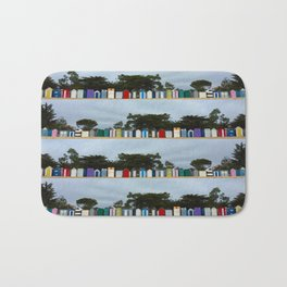 huts on the beach Bath Mat