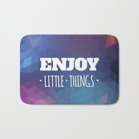 Enjoy Little Things Bath Mat