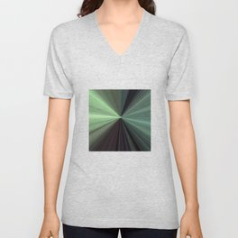 Shades of Green Color Explosion Unisex V-Neck