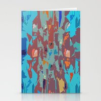 camo Stationery Cards featuring Camo by Lara Gurney
