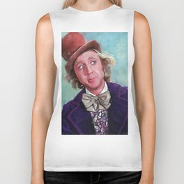 The Candy Man Can - Willy Wonka Biker Tank
