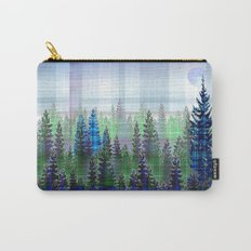 Plaid Forest Carry-All Pouch