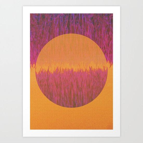 Hot Summer Day Art Print