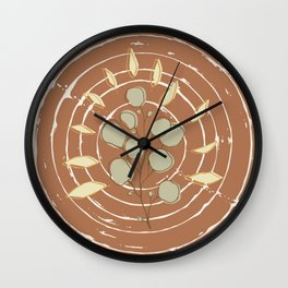 My personal forest 2 Wall Clock