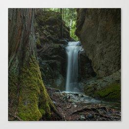 Beautiful Small Waterfall Canvas Print