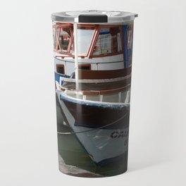 Caunos Riverboats at Dalyan Travel Mug