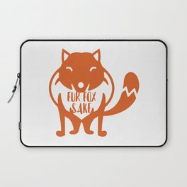 Fur Fox Sake Laptop Sleeve