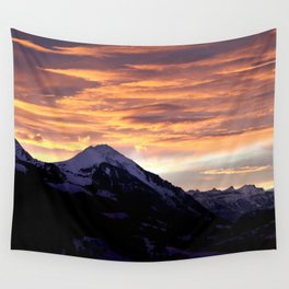 Sky Fire Wall Tapestry