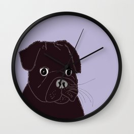Somedays he's sweeter than others.  Wall Clock