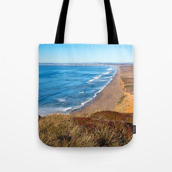 Point Reyes Coastal Scenery Tote Bag