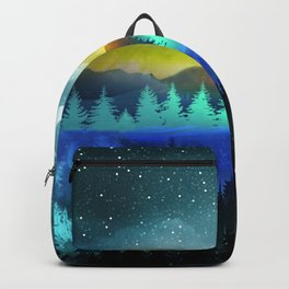 Silent Forest Night Backpack
