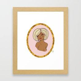 Valentine Pinup 5 Framed Art Print