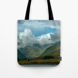 Cloudy afternoon in Connamara Tote Bag