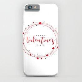 JL STAR San valentin iPhone Case