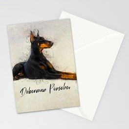 Doberman Pinscher Stationery Cards