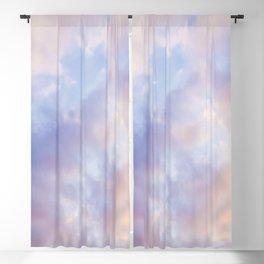 Pink sky / Photo of heavenly sky Blackout Curtain