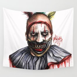 TWISTY THE CLOWN Wall Tapestry