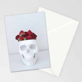 I like you. Can I eat your brain? Stationery Cards