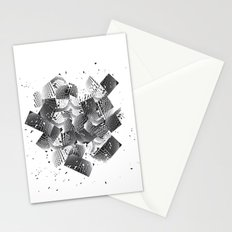 broken wondows Stationery Cards