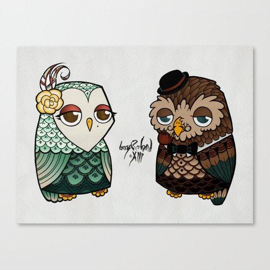 The Owls Canvas Print