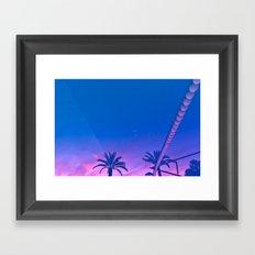 Sunset Reverberation Framed Art Print