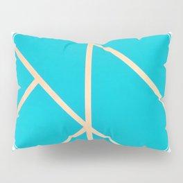 Leaf - circle/line graphic Pillow Sham