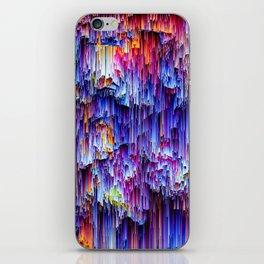Rain glitch iPhone Skin