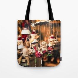 Christmas market, Lille Tote Bag