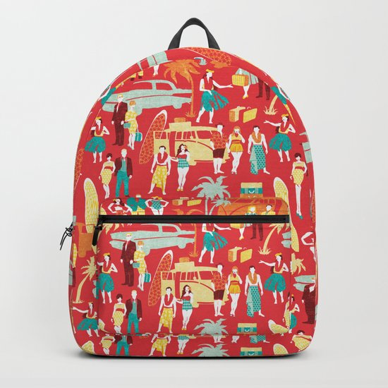 Hawaii elegance in action Backpack
