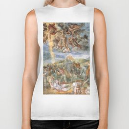 "Michelangelo ""The Conversion of Saul"" Biker Tank"
