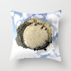 Around Jerusalem Throw Pillow