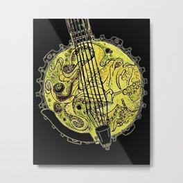Octo Banjo Metal Print