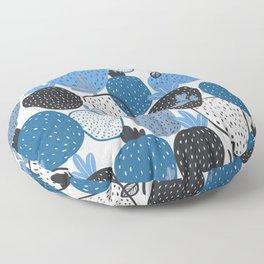 Strawberry Illustration Pattern Floor Pillow