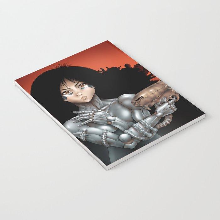 GUNNM Battle angel Alita Notebook