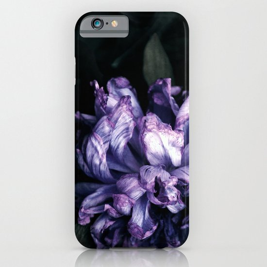 the purple lady iPhone & iPod Case