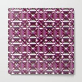Fabolous Diamond Pattern C Metal Print