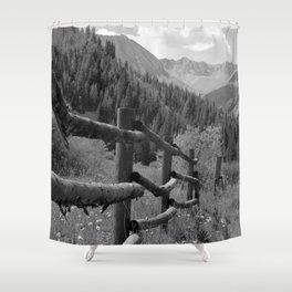 Rugged Trails Ahead Shower Curtain